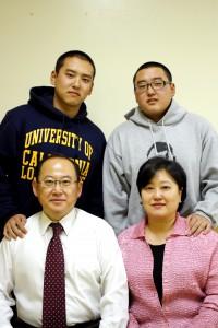 김기대 목사 가족